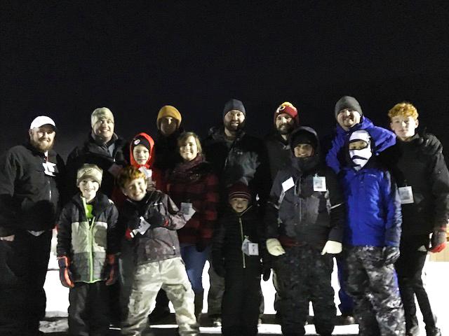 2018 Snow Tubing Race